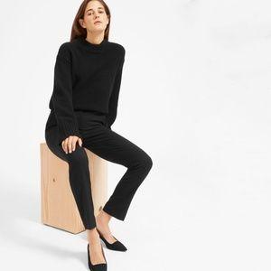 Everlane Black Slim Wool Cropped Pants Size 8